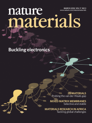 Cover image for the March 2018 Issue of Nature Materials