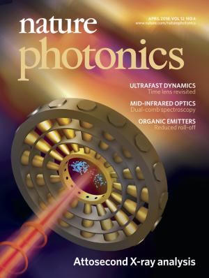 Nature Photonicsの表紙