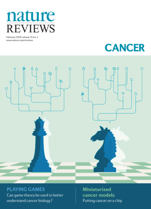Journal cover image for Nature Reviews Cancer
