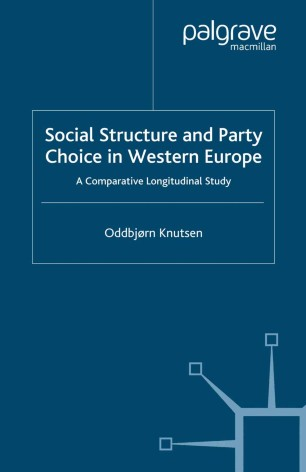 Social Structure And Party Choice In Western Europe Springerlink