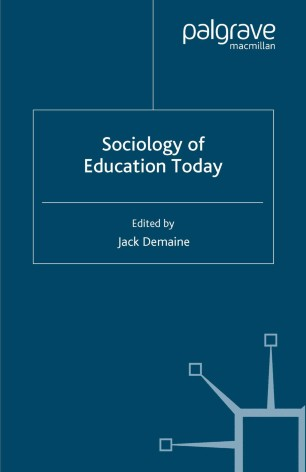Sociology of Education Today