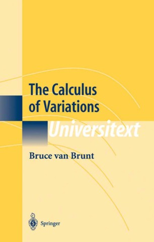 Calculus of variations book free download