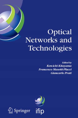 Optical Networks And Technologies Springerlink border=