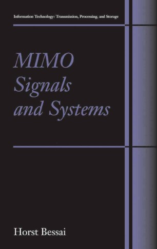Mimo Signals And Systems Springerlink border=