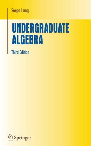 Lang Linear Algebra Pdf