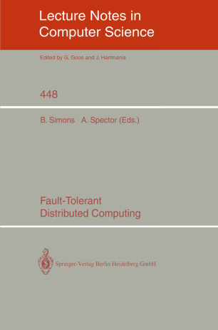 Fault-Tolerant Distributed Computing