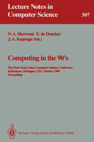 Computing in the 90's