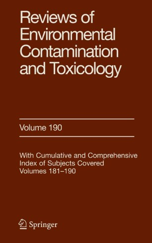 Reviews of Environmental Contamination and Toxicology : Continuation of Residue Reviews