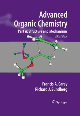 obálka Advanced Organic Chemistry: Part A
