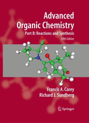 obálka Advanced Organic Chemistry: Part B