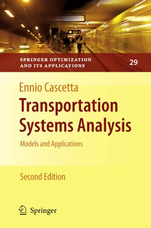 Transportation Systems Analysis | SpringerLink