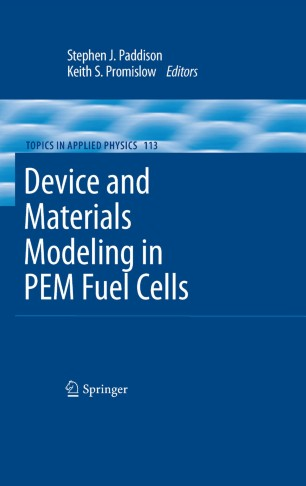 Device and Materials Modeling in PEM Fuel Cells | SpringerLink