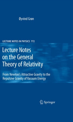 Lecture Notes on the General Theory of Relativity | SpringerLink