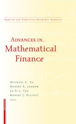 Advances in Mathematical Finance :