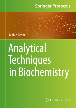 Analytical Techniques Biochemistry 2020 978-1-0716-0134-1