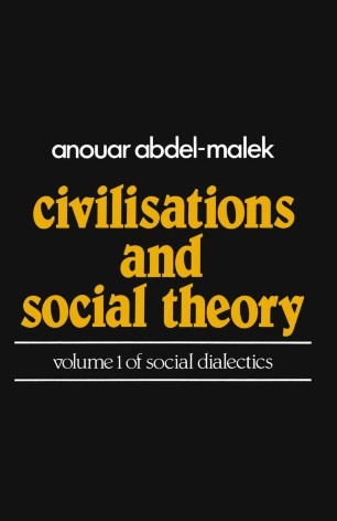 Civilisations and Social Theor...