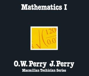 Mathematics I
