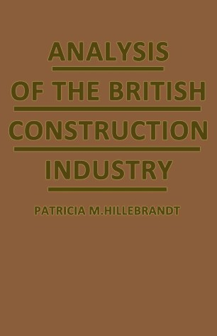Analysis of the British Construction Industry :