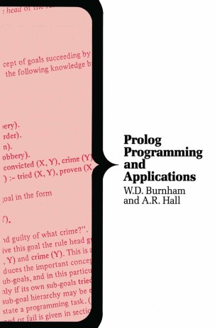 Prolog Programming and Applications