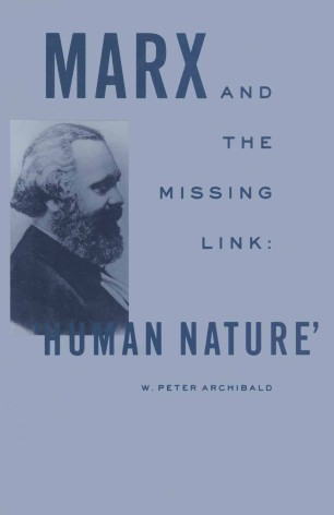 """Marx and the Missing Link: """"Human Nature"""""""