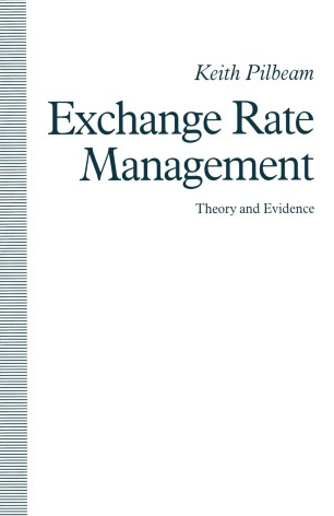 Exchange Rate Management: Theory and Evidence | SpringerLink