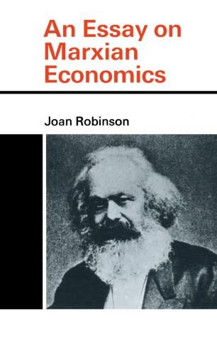 """Résultat de recherche d'images pour """"joan robinson essay on marxian economics"""""""