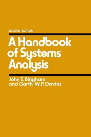 A Handbook of Systems Analysis :