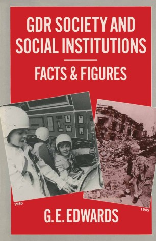 GDR Society and Social Institutions