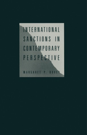 International sanctions in contemporary perspective
