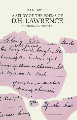 A Study Of The Poems Of D H Lawrence Springerlink