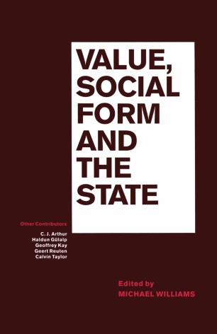Value, Social Form and the State