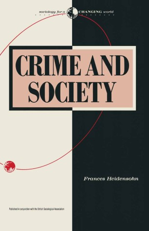 crime and social control in a changing china pdf