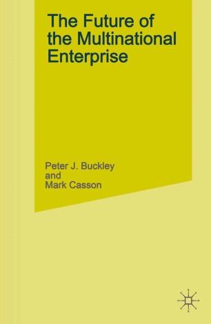 The Future of the Multinational Enterprise