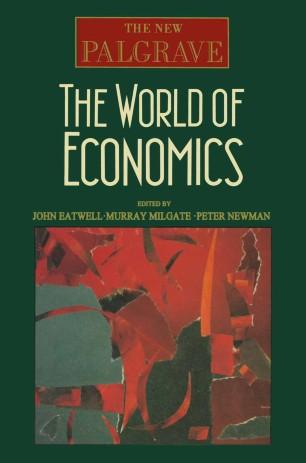 The World of Economics