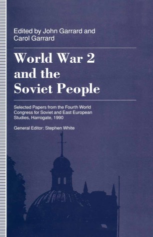 World War 2 and the Soviet People | SpringerLink