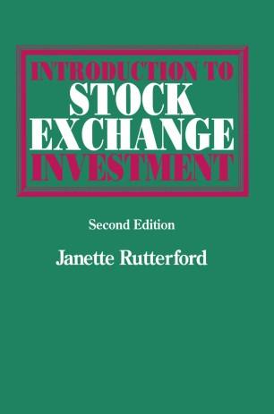 Stock exchange best investment options