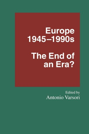 Europe 1945–1990s