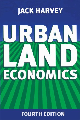 Urban Land Economics Book