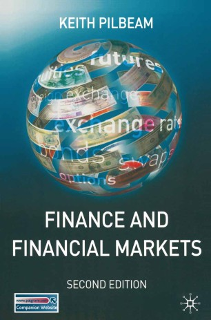 Pdf finance pilbeam and financial markets keith