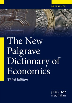 [The New Palgrave Dictionary of Economics]