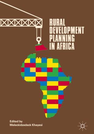 Rural Development Planning in Africa :