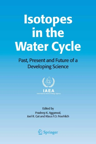 Isotopes In The Water Cycle Springerlink