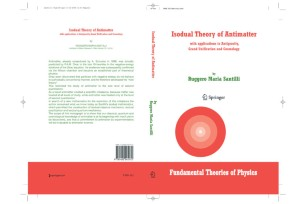 Isodual Theory of Antimatter