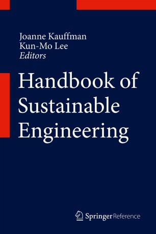 Handbook Of Sustainable Engineering Springerlink