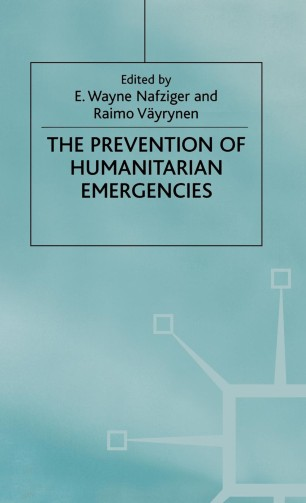 The Prevention of Humanitarian Emergencies