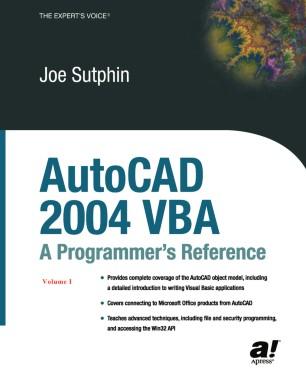 AutoCAD 2004 VBA: A Programmer's Reference | SpringerLink