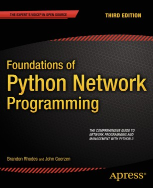 Foundations Of Python Network Programming Springerlink