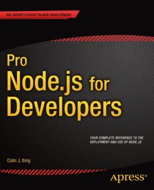 Pro Node.js For Developers Pdf