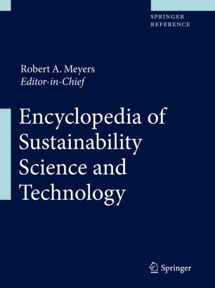 [Encyclopedia of Sustainability Science and Technology]