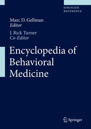 [Encyclopedia of Behavioral Medicine]